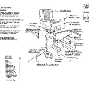 80's Fwd Swivel Seat Kit